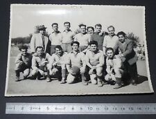 RARE PHOTO VINTAGE ORIGINALE 1920-1930 FOOTBALL CLUB A IDENTIFIER SOCCER