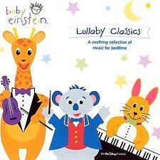 Baby Einstein: Lullaby Classics CD NEW FREE SHIPPING Disney Brahms Mozart Bach