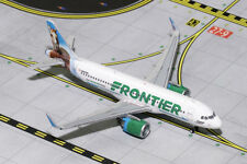 GEMINI JETS FRONTIER AIRLINES A320NEO 1:400 CHAMP THE BRONCO GJFFT1617 IN STOCK