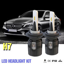 1Pair H7 LED Headlight Bulbs Kit for Mercedes-Benz B200 C230 C240 C250 C280 C300