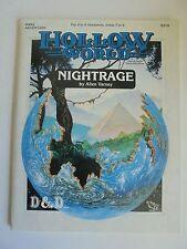 Hwa2 nightrage creux monde D&D RPG et de DONJON & DRAGONS ADVENTURE module & carte