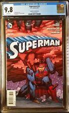Superman (2011 3rd Series) #32 Romita Jr Variant CGC 9.8 1:100