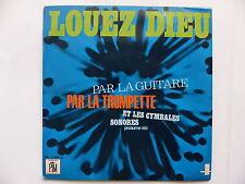 Loyuea Dieu 4  Par la guitare par la trompette GUY DE FATTO JEF GILSON  PM17058