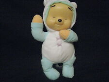 """2005 FISHER PRICE 12"""" BABY POOH LIGHT UP MUSICAL DOLL PLUSH"""