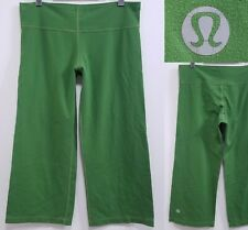 Lululemon Still Green Crop Yoga Leggings Size 12 XL Athletic Pants