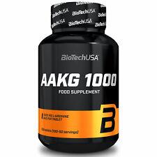 BIOTECH USA AAKG 100 Tablets - Supplemento di arginina 1000 mg - Pompe muscolari