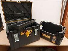 DEWALT DS450 TOUGH SYSTEM STORAGE TROLLEY DWST1 75668 + DS280 TOTE DWST1 75654