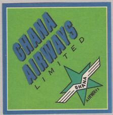 GHANA AIRWAYS LIMITED AIRLINE LUGGAGE LABEL