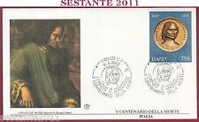 ITALIA FDC FILAGRANO LORENZO DE MEDICI IL MAGNIFICO 1992 ANNULLO FIRENZE S230