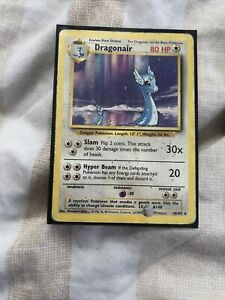 Dragonair 18/102 Rare Non-Holo Base Set Pokémon Card Set