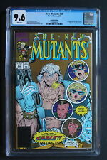 NEW MUTANTS 87 GOLD 2nd Print 1st Full CABLE 1990 LIEFELD McFARLANE CGC NM+ 9.6