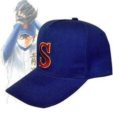 Baseball Hat S Cap Diamond Sawamura Cosplay Eijun Lovely Satoru Furuya Miyuki