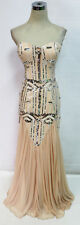City Triangles Blush Cream Prom Formal Gown 11 - $150 NWT