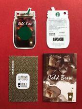 CS1828 China Starbucks coffee Cold Brew Journey MSR card 1pc