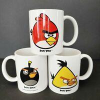 Angry Birds Coffee Mug Set of 3 Bomb Chuck and Terence Rovio Entertainment