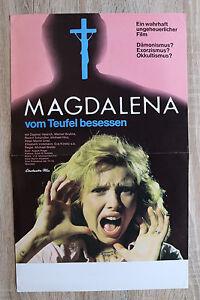 orig Kino Plakat - Magdalena vom Teufel besessen 1974 Exorzismus Okkultismus !!