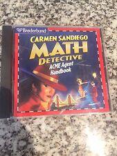 Learning Software - Carmen Sandiego Math Detective - Free Ship