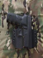 Black Carbon Fiber Kydex SIG P229R Holster