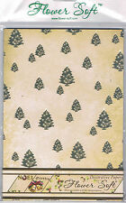 Flower Soft A5  24 pack of 120gsm paper in 6 vintage Christmas designs