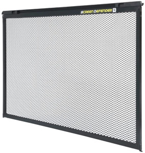 Lippert 859793 Screen Defender RV Entry Door Screen Protector for 5th Wheel, Tra