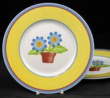 Villeroy & Boch TWIST DORA 2 Salad Plates VERY GOOD CONDITION