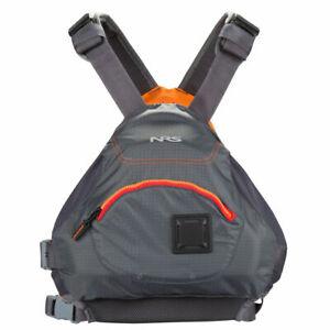 NRS Ninja Life Jacket - Kayak PFD - USCG Type III - CHARCOAL Size XXL