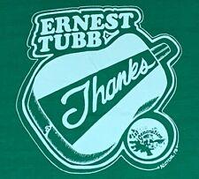 M/L * vtg 70s 1979 Ernest Tubb classic country music t shirt * tour medium large
