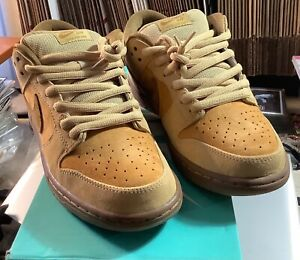 Nike SB Dunk Low TRD QS Wheat 883232 700 Size US 9 New in the Box