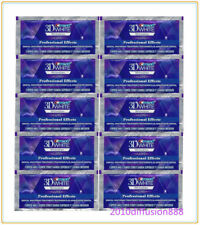 Crest3D Professional Effects Bandes Blanches Blanchiment Dents 20 bandes