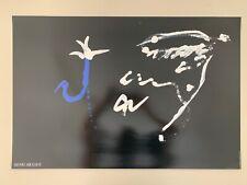 HENRI MICHAUX , RARE AUTHENTIC 1990 ART PRINT