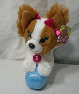 "BARBIE * 2017 Stuffed Plush Dog * TAG - 8"" - Adventure"