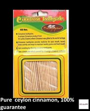 Cinnamon Toothpicks 100pcs100%Natural An Unique product from Sri Lanka