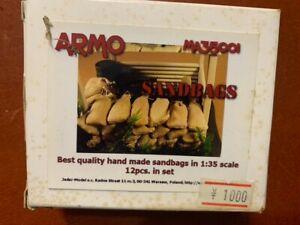 ARMP SANDBAGS 1/35 335001 - HAND MADE FOR DIORAMAS