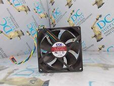 AVC DS09225R12HP045 453077-001 REV B 12 VDC 0.41 A HYDRALIC BALL BEARING FAN