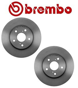 Brembo Pair Set of 2 Front Brake Disc Rotors 296mm For IS250 Avalon Camry Solara