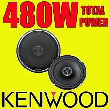 KENWOOD 480W TOTAL 2WAY 6.5 INCH 16.5cm CAR DOOR/SHELF HIGH QUALITY SPEAKERS pr