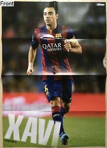 Xavi (FC Barcelona) / Andrea Pirlo(Juventus F.C.) 2-sided poster