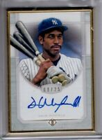 2017 Topps Transcendent Auto DAVE WINFIELD Gold Framed 08/25 AUTOGRAPH Yankees