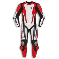 Ducati Corse K1 Leather Suit 1 One Piece Racing Track Road Motorcycle Motorbike