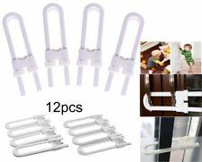 4~12 Sliding Child Safety Cabinet Lock U Shaped Baby Proof Cupboard Kitchen Lock