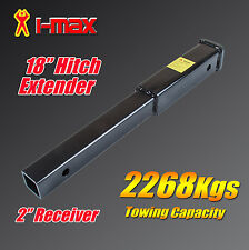 "18"" Inch Hitch Extender Extension Bike Rack Tow Bar Adaptor Trailer 4WD Car 2"""