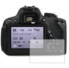 3 X Proteggi schermo per Canon Canon EOS 700D-chiaro display Guard Cover Pellicola