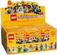 LEGO SERIES 1 MINIFIGURES (8683) Complete Set of 16 Minifigs. Factory Sealed.