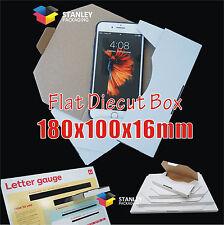50x Flat Mailing Diecut Box Mailer Rigid Envelope Letter 180x100x16mm Shipping
