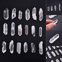 50g Bulk Natural Crystal White Quartz Small Points Terminated Wand Specimen AU