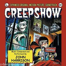 CREEPSHOW George Romero SOUNDTRACK CD Ltd Ed JOHN HARRISON Score COMPLETE New!