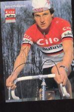 JULIUS THALMANN cyclisme Signed CILO AUFINA Swiss autographe cycling tour suisse