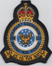 RAF no. 133 Eagle Squadron Royal Air Force Crest Badge Patch MOD Approved