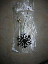 """12 Chrome Plated Snowflake Ornaments - Christmas/Gift Basket - 2"""" x 2"""""""