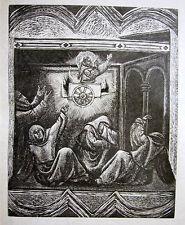 GANYMED BAND IV CAMPENDONCK SEEWALD MESECK UNOLD 5 ORIGINAL-GRAFIKEN 1922 MUSIL
